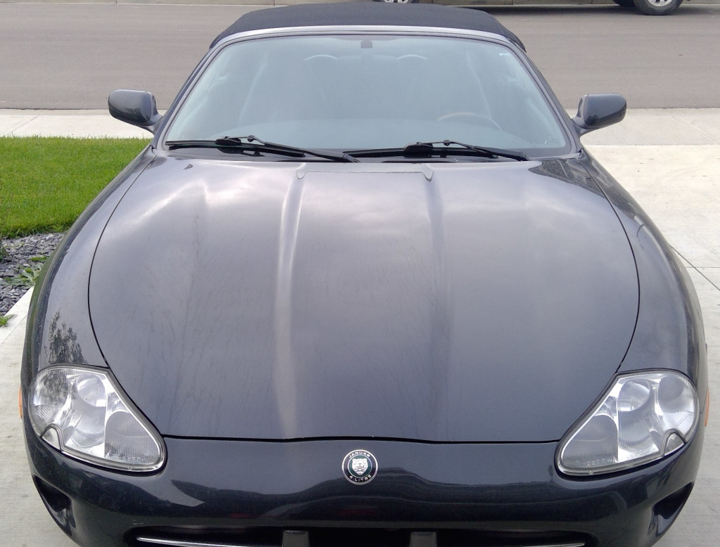 Before Image of Jaguar XK8