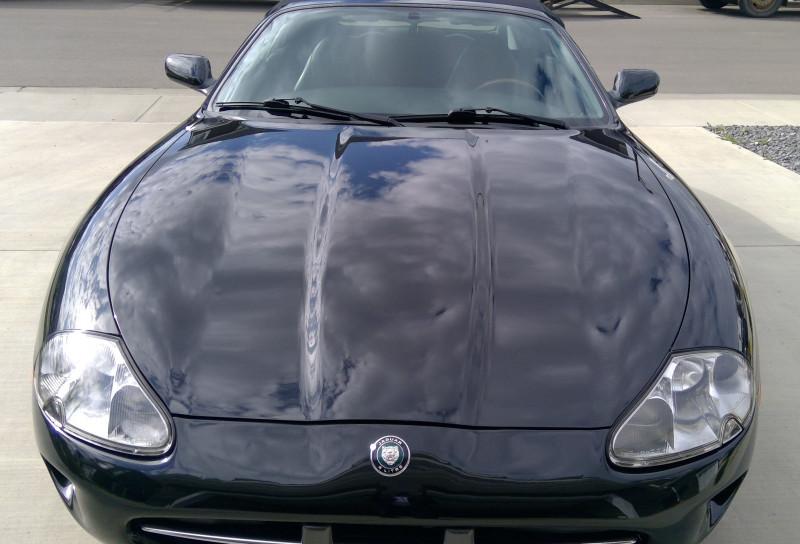 After detailing Image of Jaguar XK8