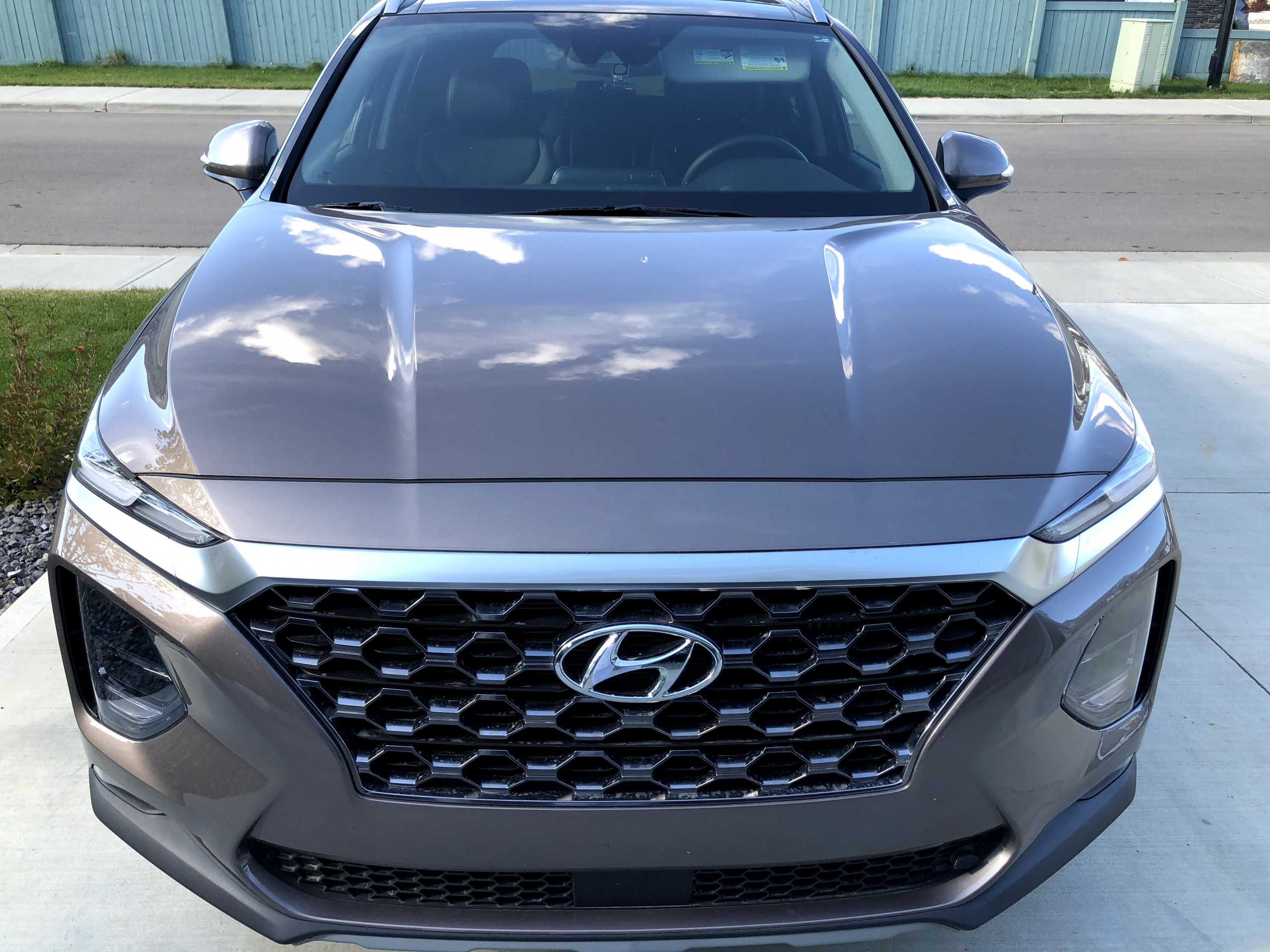 2020 Hyundai Santa Fe before enhancement detail